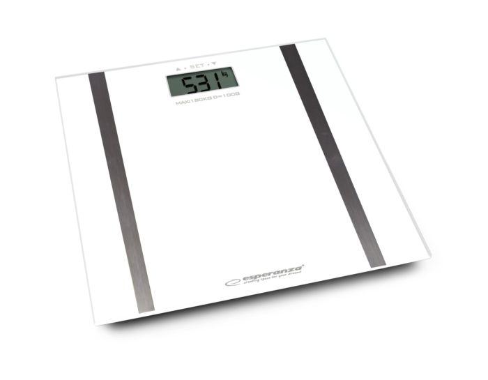 Digitalna kupaonska vaga Agava 180 kg - bijela