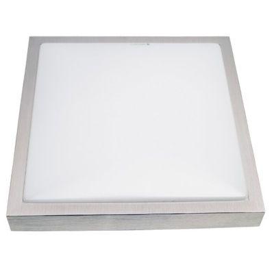Stropna svjetiljka VP-EL SOLO SQUARE 2xE27 SILVER