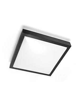 Stropna svjetiljka VP-EL SOLO SQUARE 2xE27 BLACK