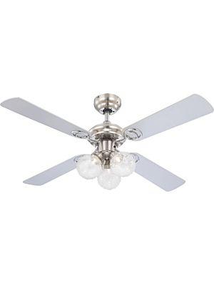 Ventilator s LED svjetlom Globo ENIGMA 0329L