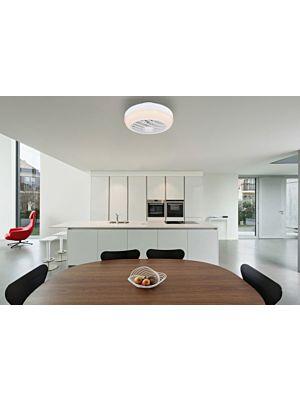 Ventilator s LED svjetlom Globo ROMARIO 03615