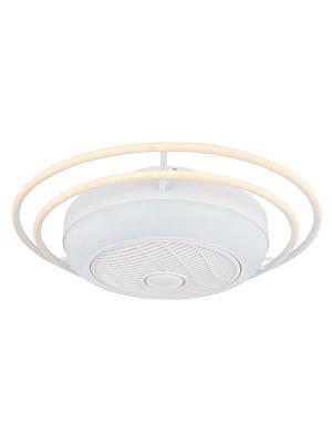 Ventilator s LED svjetlom Globo ROMARIO 03616