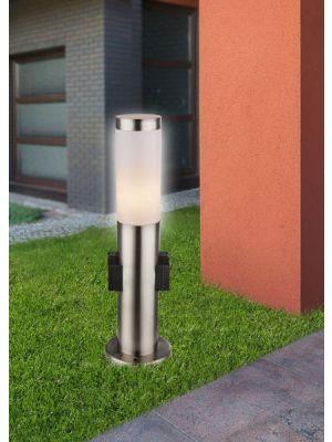 Vanjska stojeća svjetiljka s utičnicom BOSTON Globo 3158k