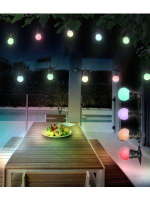 LED vanjska dekorativna svjetiljka NIRVANA plastika crna, Globo 3401