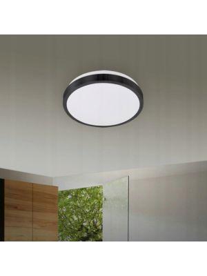Stropna svjetiljka VP-EL SOLO ROUND 2xE27 BLACK