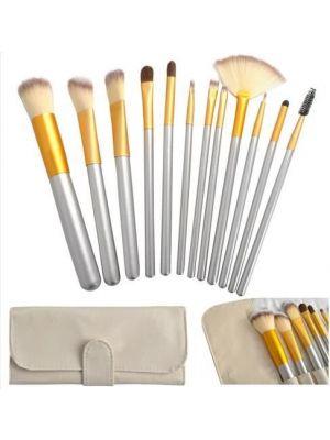 12-dijelni set četkica za šminkanje