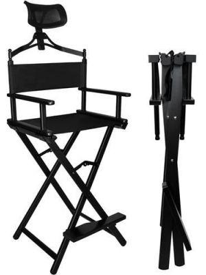 Sklopiva stolica za šminkanje s naslonom za glavu