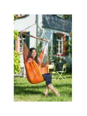 Viseća fotelja Orquidea, narančasta