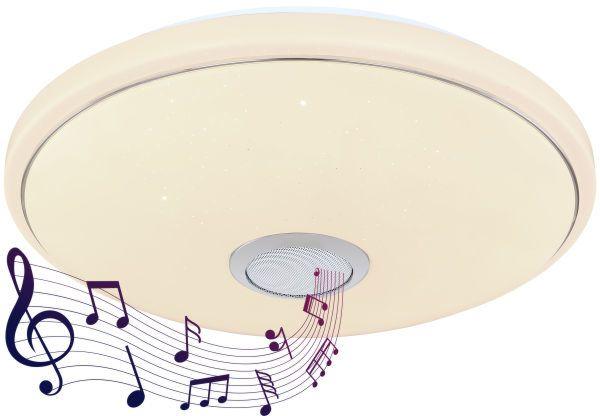 LED Stropna svjetiljka sa zvučnikom Globo CONNOR 41386-18LIP