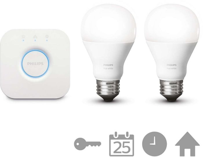 LED žarulja E27 - Philips Hue starter set 2 x 9,5W + bridge